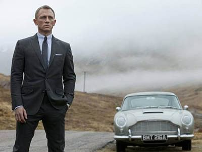 Sony hackers steal 007 Bond movie's script