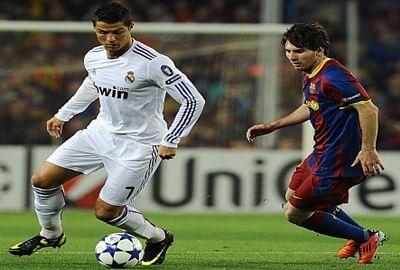 Messi challenges Ronaldo in race for Spain's top scorer