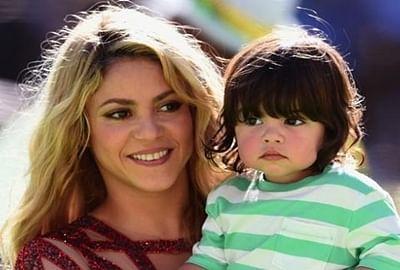 Shakira teaching her son seven languages
