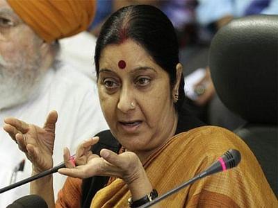 Conversion, Sushma's Gita remarks create uproar in LS
