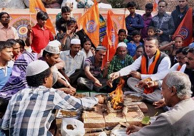 Ghar Wapsi: Five families re-convert to Hinduism