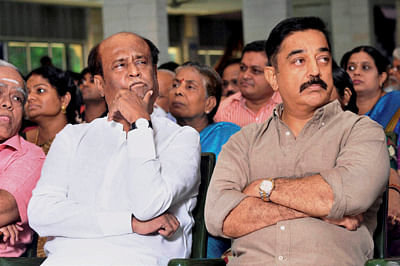 Rajinikanth And Kamal Haasan pay Tribute Director Late K Balachander