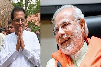 Sri Lanka polls: Narendra Modi congratulates Maithripala Sirisena