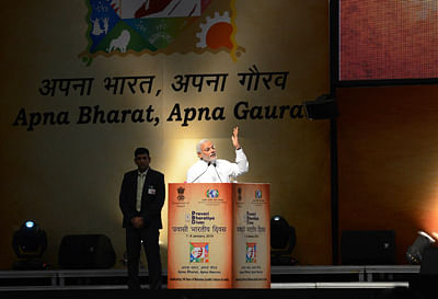 PM Asks Indian Diaspora To Contribute For Rising India