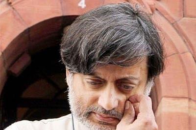 Sunanda case: Shashi Tharoor lashes out at media