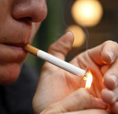 Growing up with smokers doubles fagging risk