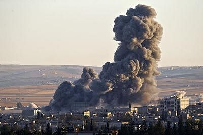 Syria condemns US-led airstrikes on army positions