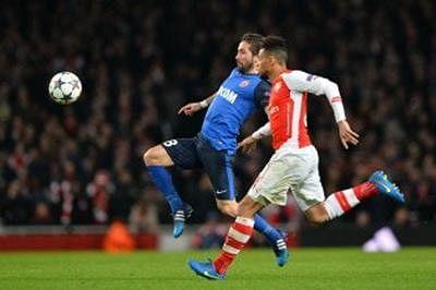 Arsenal stunned as Monaco seize initiative