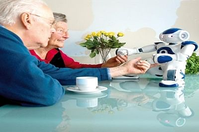 Social robot to give the elderly company