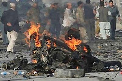 Twin suicide attacks kill 10 in Nigeria