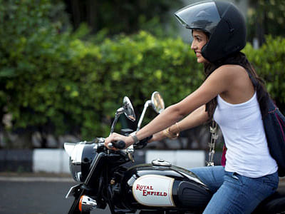 Women Bikers Blaze New Trail