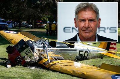 Harrison Ford 'battered' in a death-defying crash
