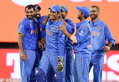 Winning run team effort: Dhoni