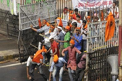 Ruckus in Bihar assembly over police action against ABVP