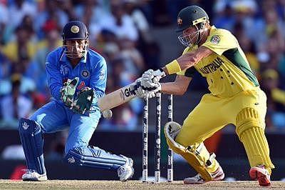 Australia set India 329-run target in WC semifinal