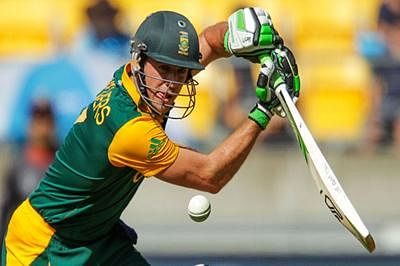 South Africa post 341/6 against UAE