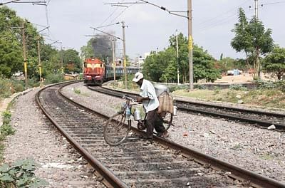 Trespassers, Dogs A Fork In India's Bullet Train Dream