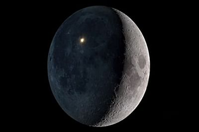 NASA orbiter records brightest hit on Moon