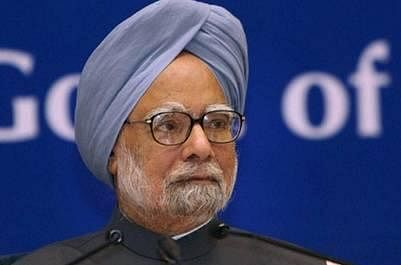 BJP slams Manmohan Singh, for 'lying with a straight face'