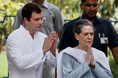 Herald case: Security beefed up ahead of Sonia, Rahul'sappearance