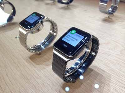 Quiet global launch for Apple Watch