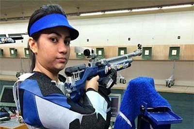 Apurvi Chandela qualifies for Rio Olympics