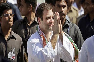 Congress supporters rejoice over Rahul Gandhi's 'Ghar Wapsi'