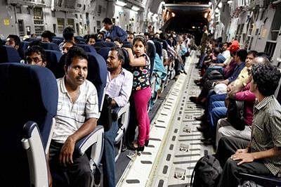 INS Mumbai evacuates 440 people from Yemen