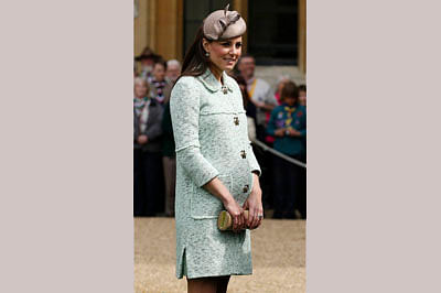 Royal baby: Kate could be up to 4 days overdue