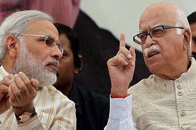 On lunar eclipse day, Advani gets eclipsed