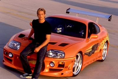 Paul Walker's Toyota Supra from 'Fast and Furious' up for sale