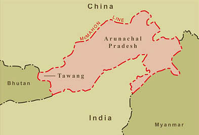 Opposed to any foreign investment in disputed areas in India's Northeast: China