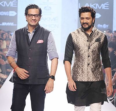 Riteish loves to be styled by Raghavendra Rathore