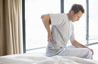 Back pain sufferers may  have chimp-like vertebrae