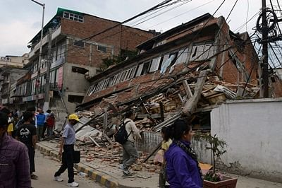 Two quakes jolt Nepalese capital