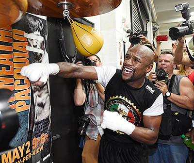 Mayweather, Pacquiao set for bout of the century