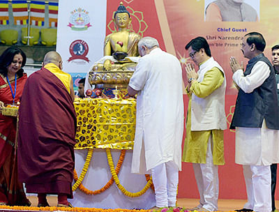 Buddha's teachings an answer  to world's turmoil, says PM