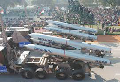 BrahMos missile test-fired,  meets all flight parameters