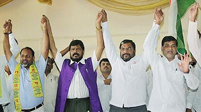 Not happy with BJP, say Mahayuti allies