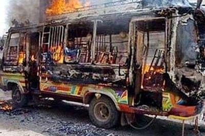 41 killed in Karachi bus firing in Pakistan
