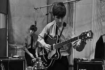 George Harrison's 1963 guitar auctioned at USD 485,000