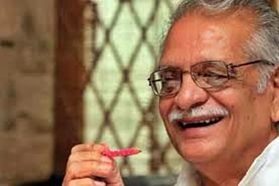 My thinking process starts with my pen : Gulzar