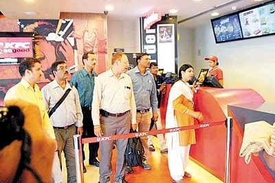 KFC comes under radar during Operation Vishudh