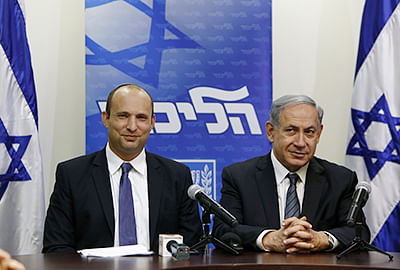 Netanyahu joins hands with right-wing party, adds to problems with Palestine