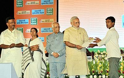 PM launches three social  initiatives on Mamata turf
