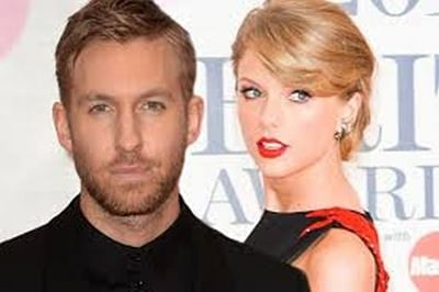 `Love birds` Taylor Swift, Calvin Harris plan to write song together