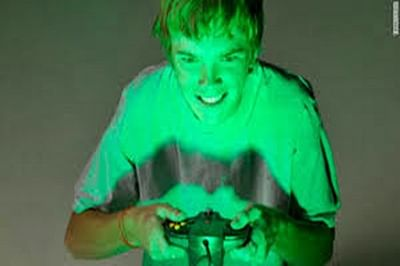 Anxious parents push kids to play violent video games