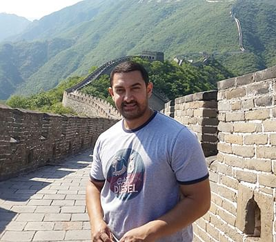 Aamir extends his stay in China