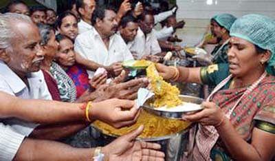 A representative photo of an 'Amma canteen' in Chennai.
