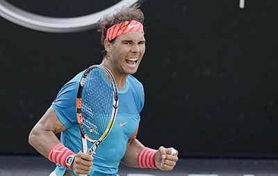 Nadal lines up for history on Stuttgart grass